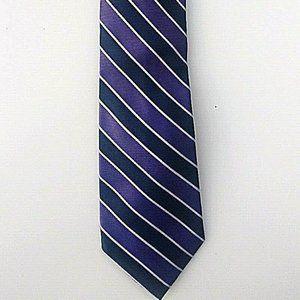 Tommy Hilfiger Mens Tie Purple